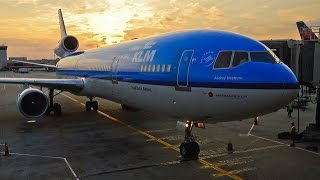 LAST MD-11 COMMERCIAL FLIGHT MONTREAL-AMSTERDAM KLM