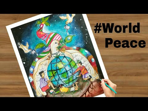 Artwork World Peace Drawing