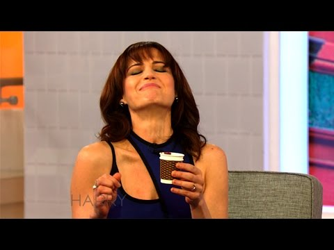 Carla Gugino & Harry Try Amazing Chocolates