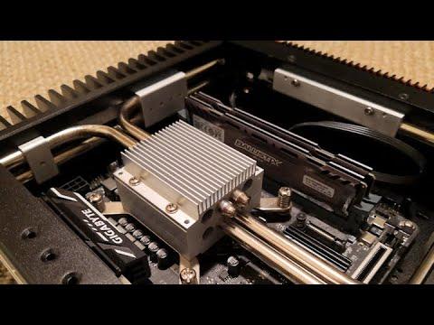 Testing The Turemetal DP2 Fanless PC Case