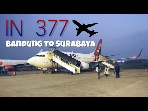 Flight Report | Nam Air IN 377 Bandung to Surabaya
