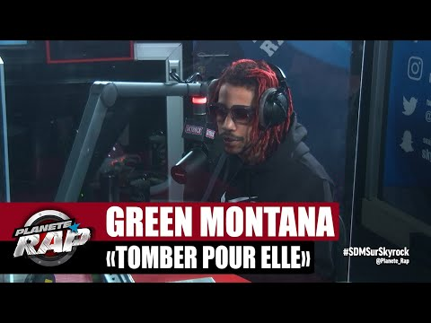Youtube: [Exclu] Green Montana«Tomber pour elle» #PlanèteRap