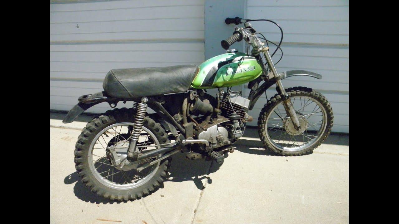 the $25 bike, kawasaki mc1 m 90cc - youtube
