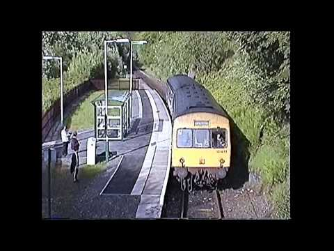 Cab ride on Conwy Valley line with 101s & Llanrwst Box May 1994 & May 2000
