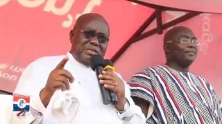 Nana Akufo-Addo - Campaigning in Nandom