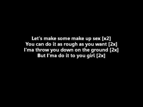 make up sex lyrics