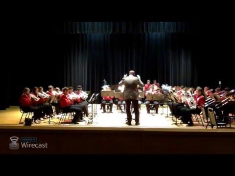 Mansfield University Brass Band Concert Spring 2016