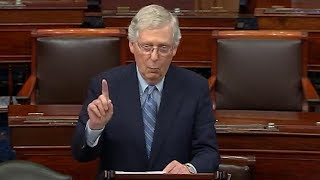 Watch: McConnell defends blocking election security bills On Monday, Senate Majority Leader Mitch McConnell responded to criticism about his decision to block election security bills. He said his decision was .not ..., From YouTubeVideos