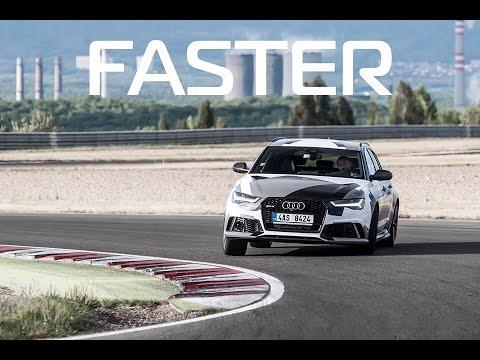 Audi RS6 Avant na okruhu