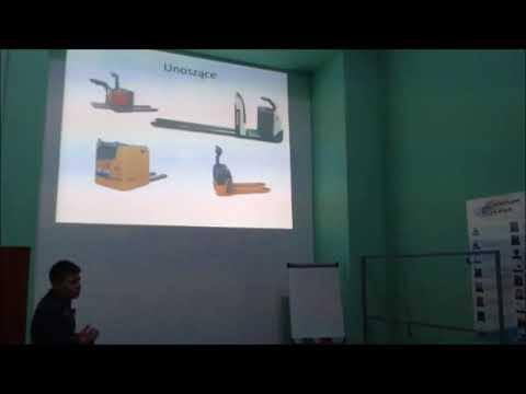 Kurs na wózki widłowe - Wykład teoria obsługi wózka jezdniowego podnośnikowego