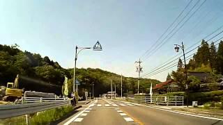 愛知県道33号 上川口梨ノ木 から 愛知県道485号 北篠平町周辺まで