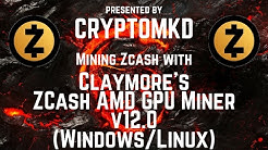 How to mine with Claymore's ZCash AMD GPU Miner v12 0