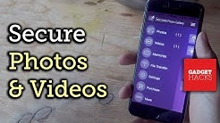 Password Protect Photos & Videos on Your iPhone [How-To]
