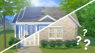 MY MOM BUILT THIS MESS... I FIXED IT // The Sims 4: Fixer Upper
