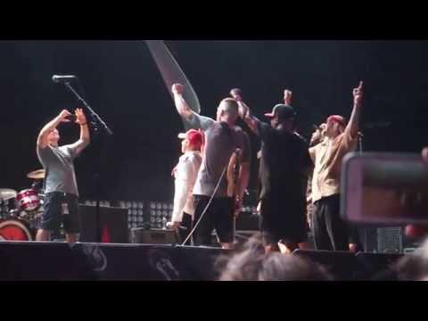 Prophets Of Rage- Sing Happy Birthday To Tom Morello's Mom @ MidFlorida Amphitheatre, Tampa 10-1-16