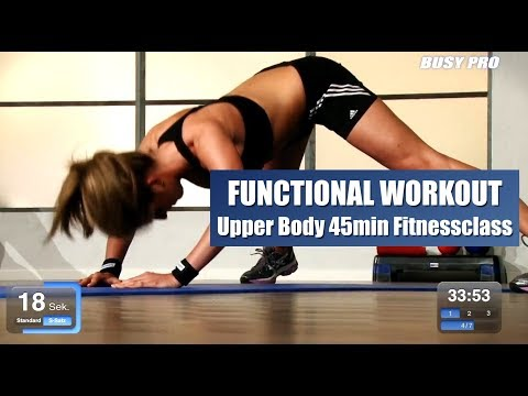 Functional Workout 45min Upper Body Fitnessclass By Dr. Daniel Gärtner