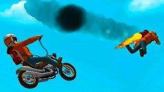 Fail Hard #6 Игра   про машинки мотоциклы   Веселое видео про мотоциклы для