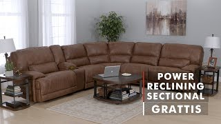 PRODUCT SPOTLIGHT: GRATTIS POWER RECLINING SECTIONAL | WG&R Furniture