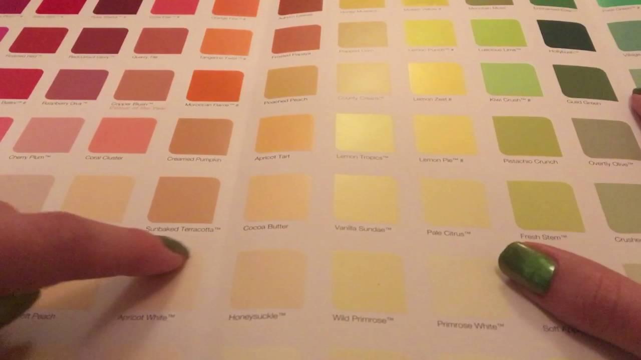 Book colour names - Asmr Paint Swatch Book Reading The Paint Colour Names
