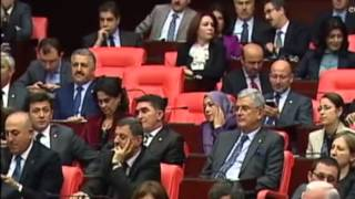 DEPUTETET TURKE MARRIN PJESE NE SEANCE PARLAMENTARE ME KOKE TE MBULUAR LAJM