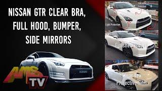 Nissan GTR Clear Bra, Full Hood, bumper, side mirrors, Project 379