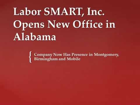 Labor SMART, Inc. Opens New Office in Alabama