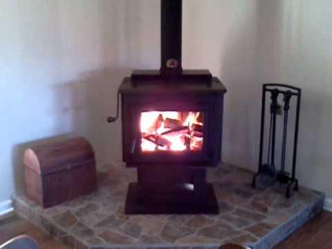 Harman TL 300 wood stove - Harman TL 300 Wood Stove - YouTube