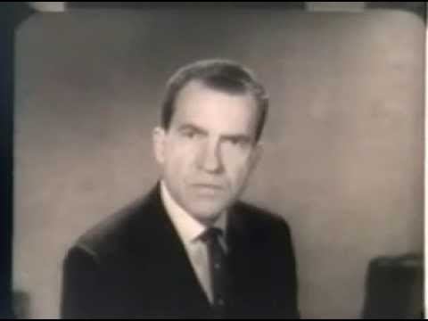1960 U.S. Presidential Election Ad - Richard Nixon on Peace & Communism