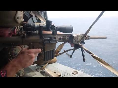 Military | Marine Corps Scout Snipers • Aerial Sniper Training