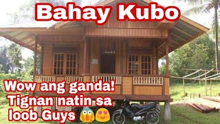Bahay Kubo Nipa Hut Simple House In The Philippines || Tresmarias Bahay Kubo's Valencia