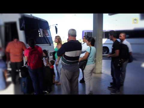 El drama de conseguir pasajes para viajar en autobús en Ciudad Guayana