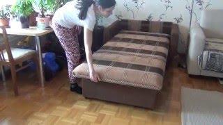 Кресло кровать(Краткое описание Кресла кровати 70: – Крепкий каркас по периметру – Фиксированная мягкая спинка и сиденье..., 2016-05-10T20:26:50.000Z)
