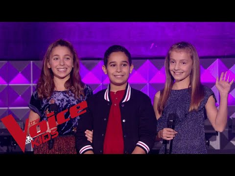 Jackson 5 - I'll Be There | Elodie - Ismael - Maëlyss | The Voice Kids France 2018 | Battles