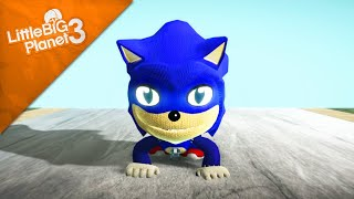 LittleBigPlanet 3 - Sonic movie trailer recreation [Film/Animation]