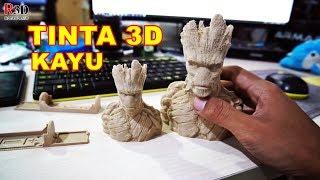 Tes Tinta 3D Printer Warna Kayu - Rajawali 3D