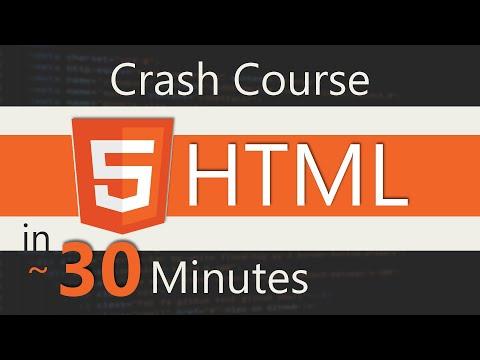 HTML Crash Course In 30 Minutes