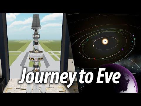 Getting to Eve (Beginner Tutorial: 14) Kerbal Space Program (KSP) 1.1 Stock Career