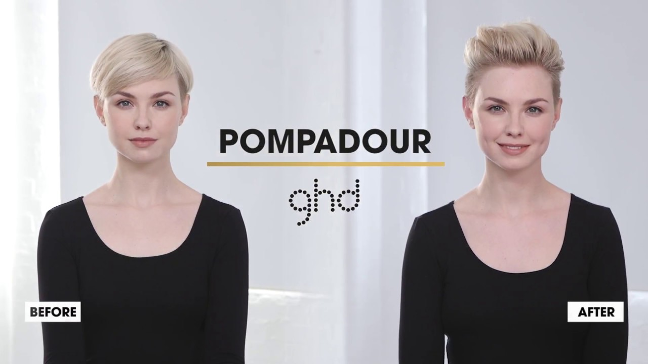 Pompadour Ghd Hairstyle How To Youtube