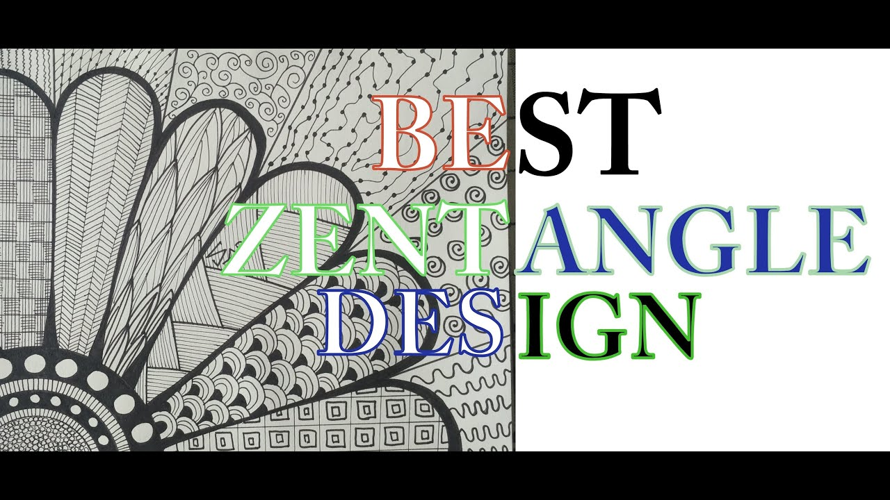 How To Draw Complex Zentangle Art Design For Beginners ...