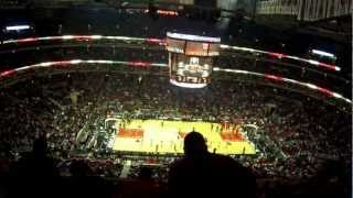 Chicago Bulls intro - Utah Jazz vs Chicago Bulls @ United Center - 03/08/2013