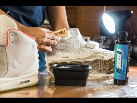 Restorations with Vick - Yeezy 2 Pure Platinum Midsole Repaint and Deep Cleaning