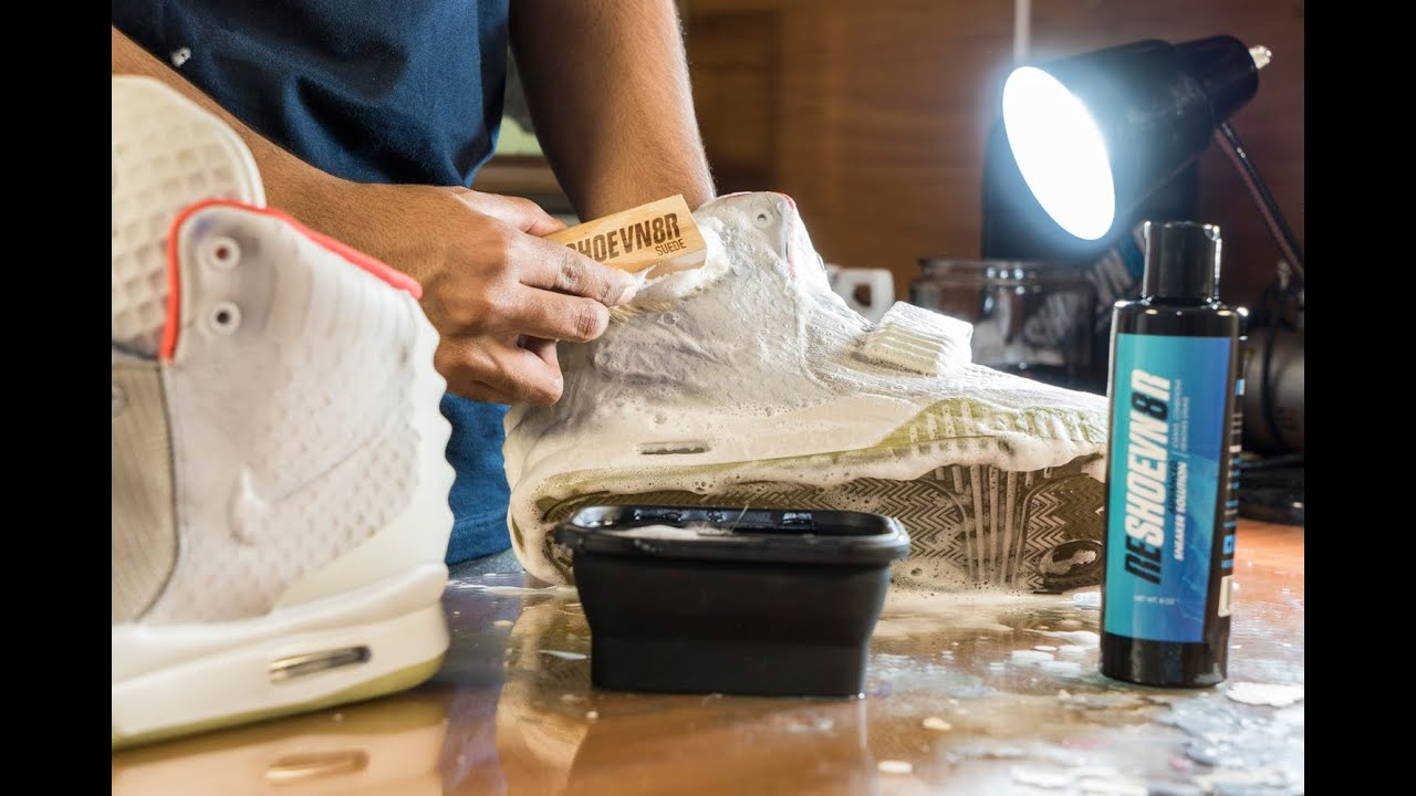 d7c629e5a6562f Restorations with Vick - Yeezy 2 Pure Platinum Midsole Repaint and Deep  Cleaning