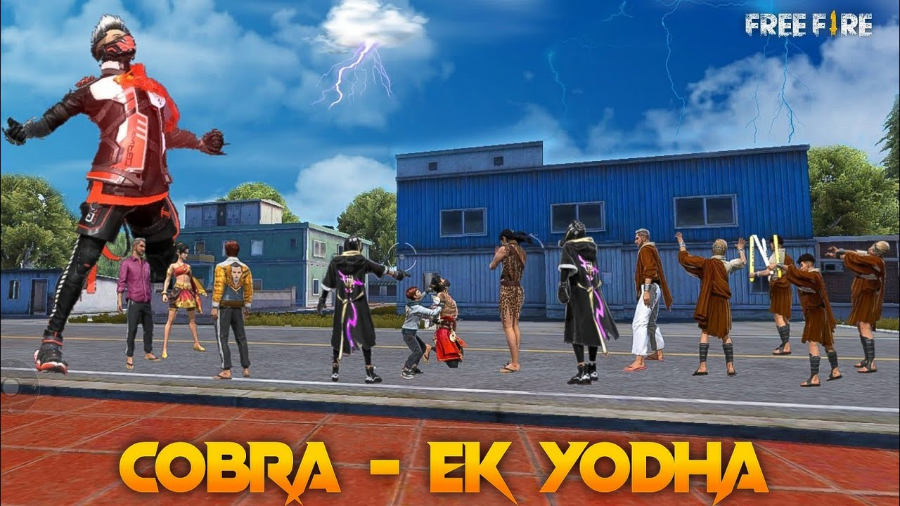 Cobra - Ek Yodha [ एक योधा ] Free fire Story in Hindi || Free fire Story