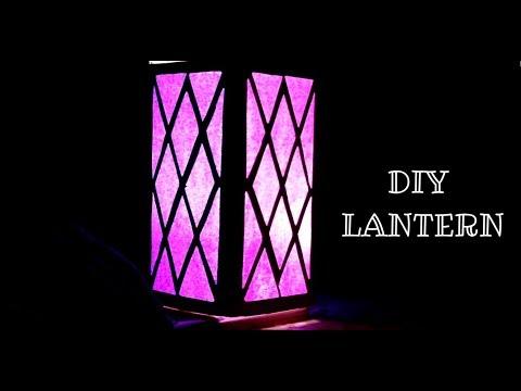HANDMADE PAPER LANTERN | DIWALI LANTERN | DIY LANTERN | Diwali craft ideas