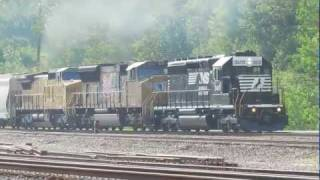 Norfolk Southern & Union Pacific Freight Train in Berea Ohio.