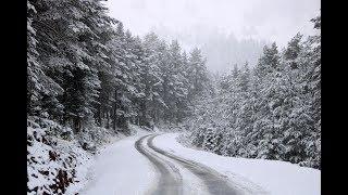Bolu'nun yüksek kesimlerinde yoğun kar yağışı