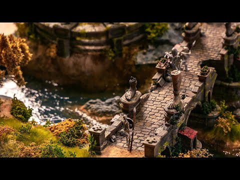 How to Build Fantastic Ultra-Realistic Diorama / 5 Minute / Handcraft Landscape and Water