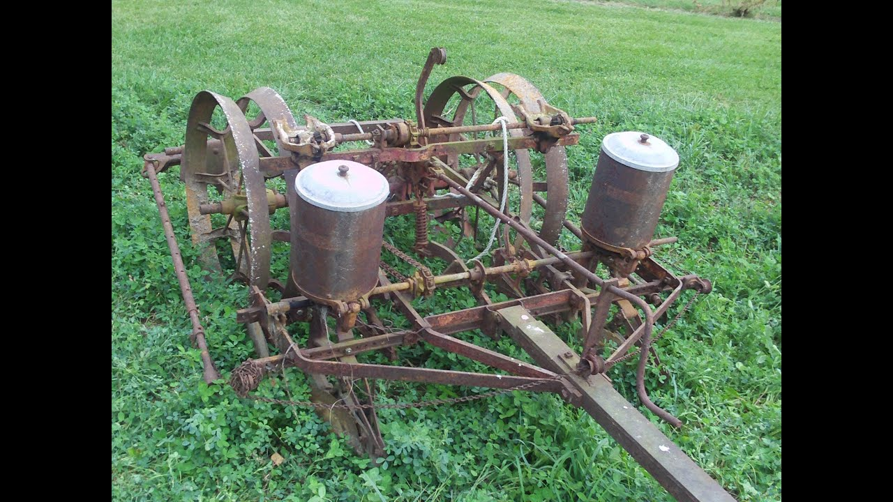 Mccormick Deering 2 Row Planter To Be Restored Youtube