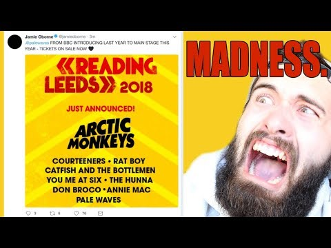 Reading & Leeds Festival 2018 Line Up LEAK MADNESS!