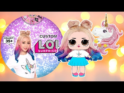 How to Make WENGIE Paper LOL Surprise Doll with PRINTABLES